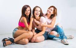 Teenage girls Stock Photo