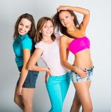 Teenage girls Royalty Free Stock Images