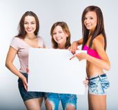 Teenage girls Royalty Free Stock Photo
