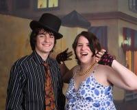 Teenage grunge couple Stock Photography