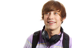 Teenage guy Royalty Free Stock Photos