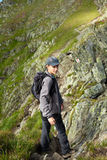 Teenage hiker Royalty Free Stock Photography