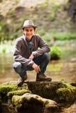 Teenage hiker Stock Photos