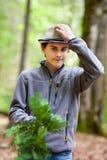 Teenage hiker Royalty Free Stock Photos
