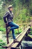 Teenage hiker Royalty Free Stock Photography