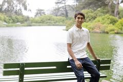 Teenage Indian Boy Stock Images