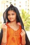 Teenage Indian girl posing Royalty Free Stock Image