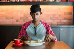 Teenage indian male Royalty Free Stock Photography