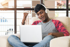 Teenage Indian male Stock Image