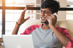 Teenage indian male Stock Images