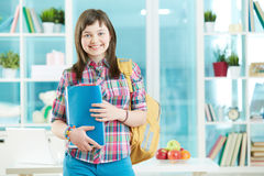 Teenage learner Stock Photo