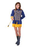 Teenage majorette Stock Photo