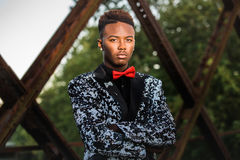 Teenage Male Model Royalty Free Stock Image