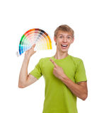 Teenage man student Stock Photos