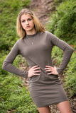 Teenage Model Posing Royalty Free Stock Photo
