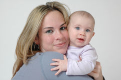 Teenage Mother Royalty Free Stock Photos