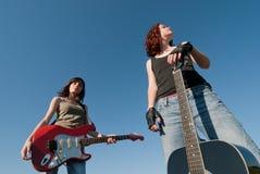 Teenage music Stock Photography