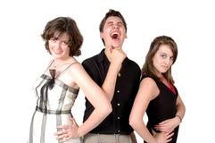 Teenage Relationships Stock Photo