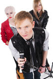 Teenage rock band Stock Photography