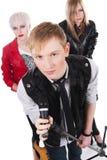 Teenage rock band Stock Photography