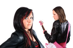 Teenage rockers Stock Photo