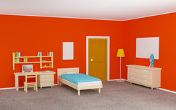 Teenage room Royalty Free Stock Images