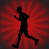 Teenage Runner Stock Photo