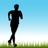 Teenage Runner Stock Images