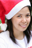 Teenage Santa Royalty Free Stock Image