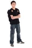 Teenage school boy Stock Image