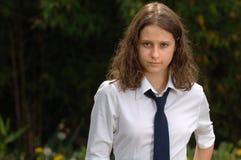 Teenage Schoolgirl Royalty Free Stock Images