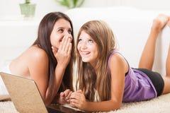 Teenage secret Stock Image