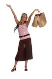 Teenage Shopper Stock Image
