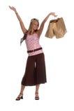 Teenage Shopper Stock Image