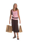 Teenage Shopper Royalty Free Stock Images
