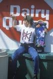 A teenage skateboarder Stock Photo