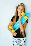 Teenage skater Royalty Free Stock Photography