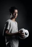 Teenage Soccer Player Royalty Free Stock Photos