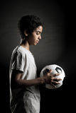 Teenage Soccer Player Stock Photo