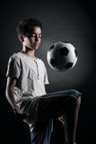 Teenage Soccer Player Royalty Free Stock Image
