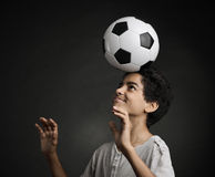 Teenage Soccer Player Royalty Free Stock Photo