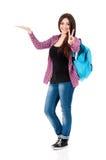 Teenage student girl Stock Photography