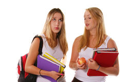 Teenage students Stock Images