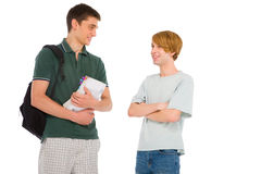 Teenage students Stock Image