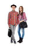 Teenage students Royalty Free Stock Photos