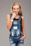 Teenage stylish girl Royalty Free Stock Photos