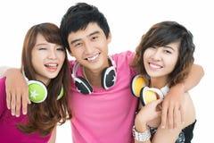 Teenage team Royalty Free Stock Images