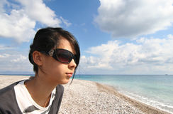 Teenage Vacation Stock Photo