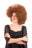 Teenage wig-fun Royalty Free Stock Image
