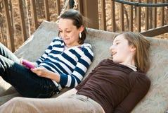teenaged barn för flickor fotografering för bildbyråer